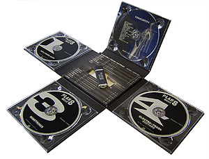Duplicated DVD's Packaging