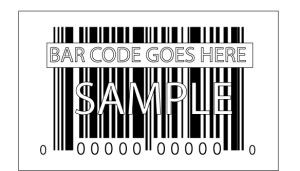 Industry logo - Bar Code - place holder
