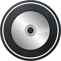 Icon of a duplicated CD